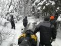 Ignace opening trail